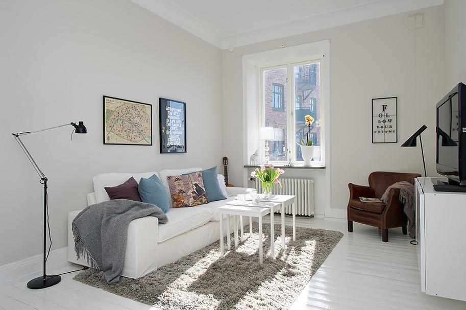 Decoraci n n rdica en blanco blog tienda decoraci n for Casas estilo nordico