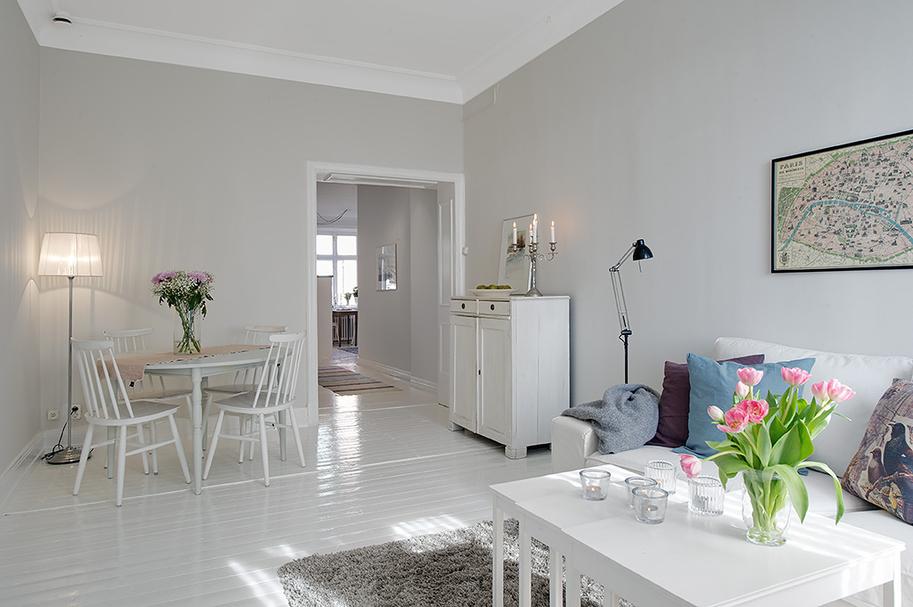 Decoraci n n rdica en blanco blog tienda decoraci n - Casas decoradas en blanco ...