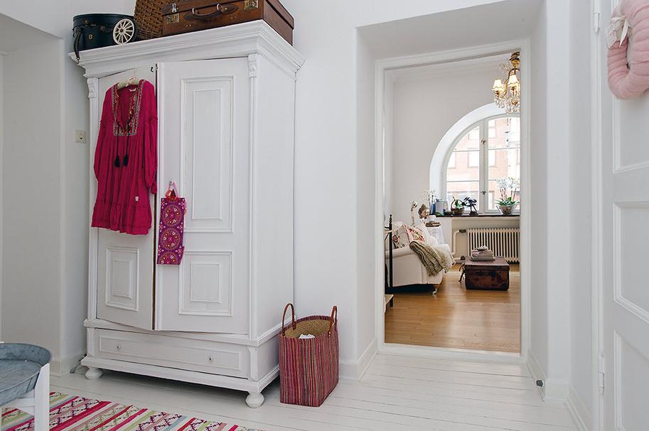 49m de blanco estilo n rdico con toques ex ticos y for Habitaciones decoracion nordica