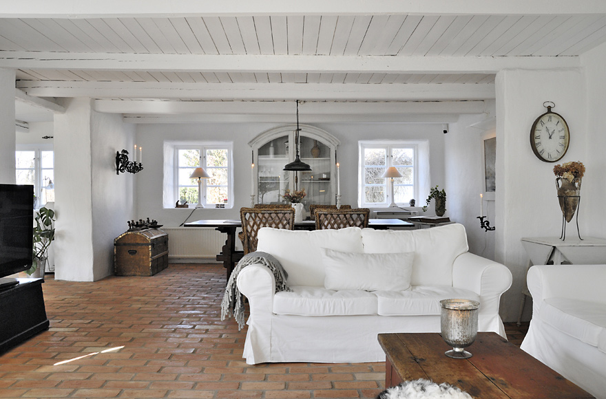 R stico moderno en blanco blog tienda decoraci n estilo for Estilo rustico moderno