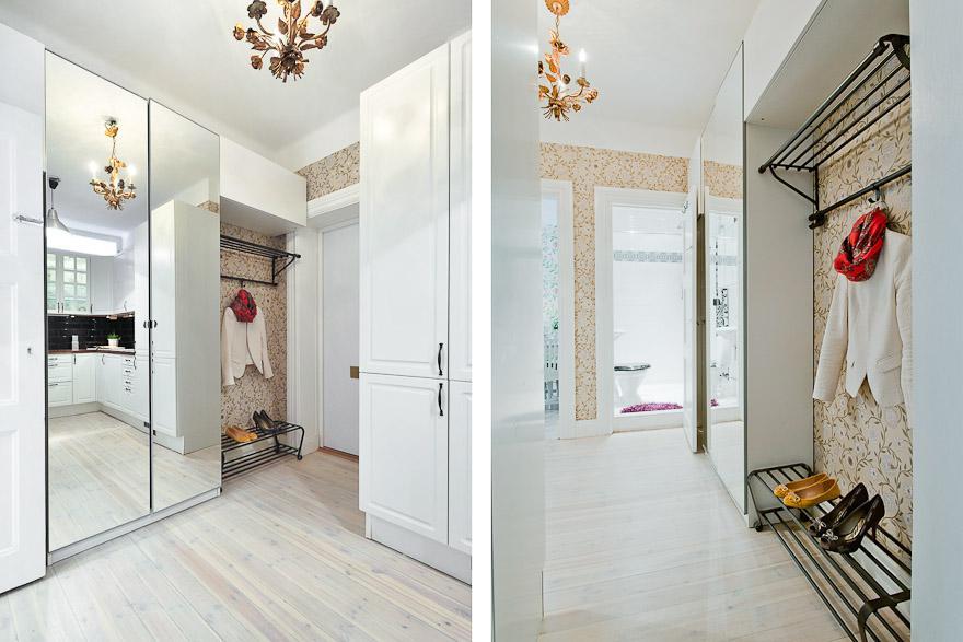 37 m de papel de pared floral blog tienda decoraci n - Interiorismo pisos pequenos ...