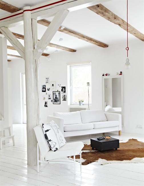 Decoraci n minimalista y ordenada blog tienda decoraci n for Decoracion de paredes rusticas