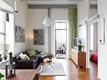 Como aprovechar el espacio en un piso de techos altos for Como aprovechar espacios pequenos en departamentos