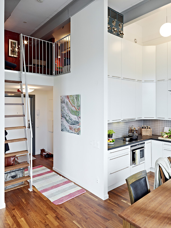 como aprovechar el espacio en un piso de techos altos On ideas para aprovechar techos altos