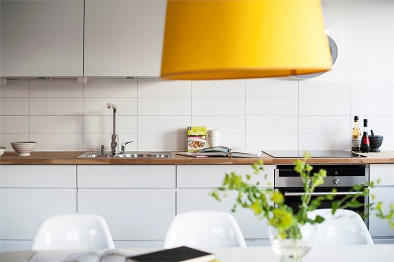 Decoración moderna de diseño con un toque amarillo   blog ...