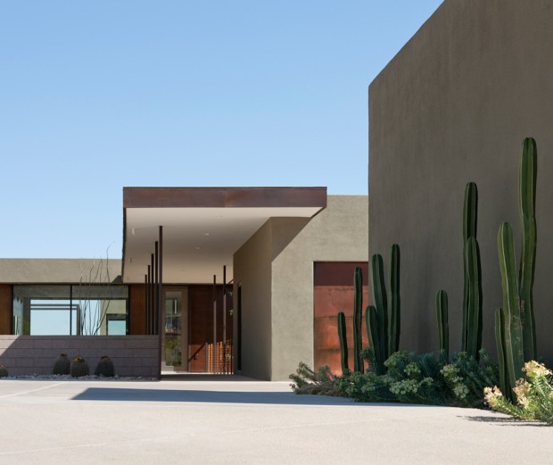 Una Residencia En Tres Rect 225 Ngulos Estilo Moderno En Arizona Blog Tienda Decoraci 243 N Estilo
