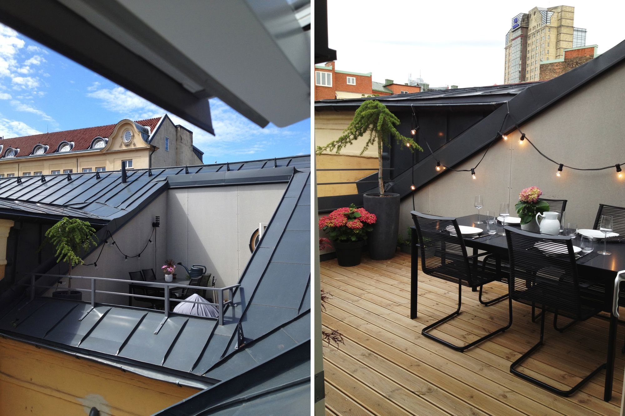 D plex con terraza blog tienda decoraci n estilo n rdico for Comedores exteriores para terrazas