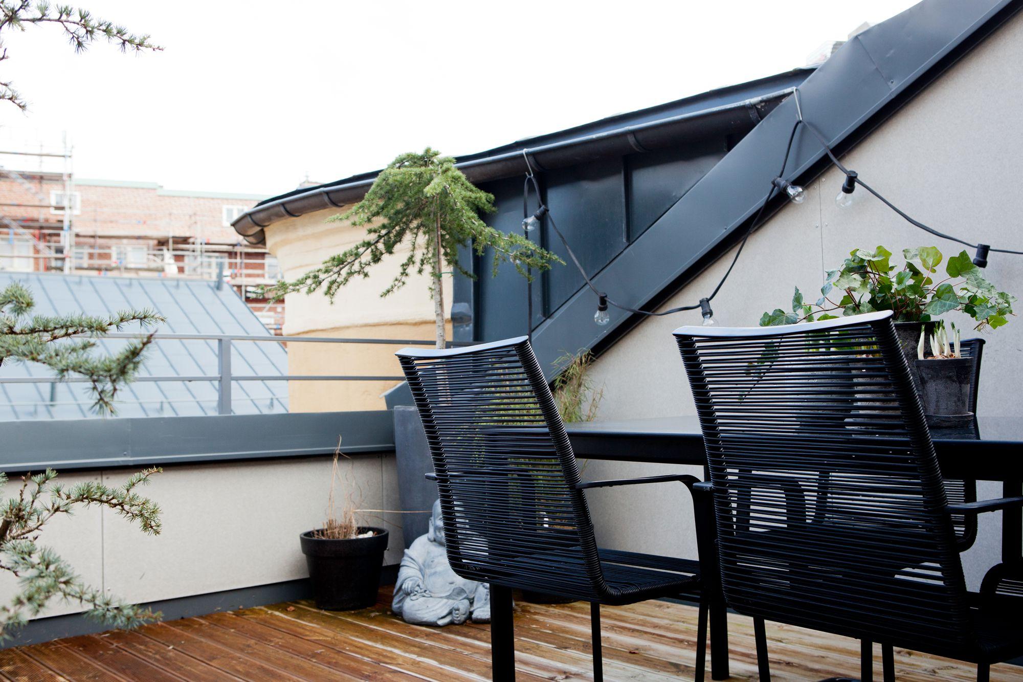 D Plex Con Terraza Blog Tienda Decoraci N Estilo N Rdico  ~ Decoracion Terrazas Aticos Fotos
