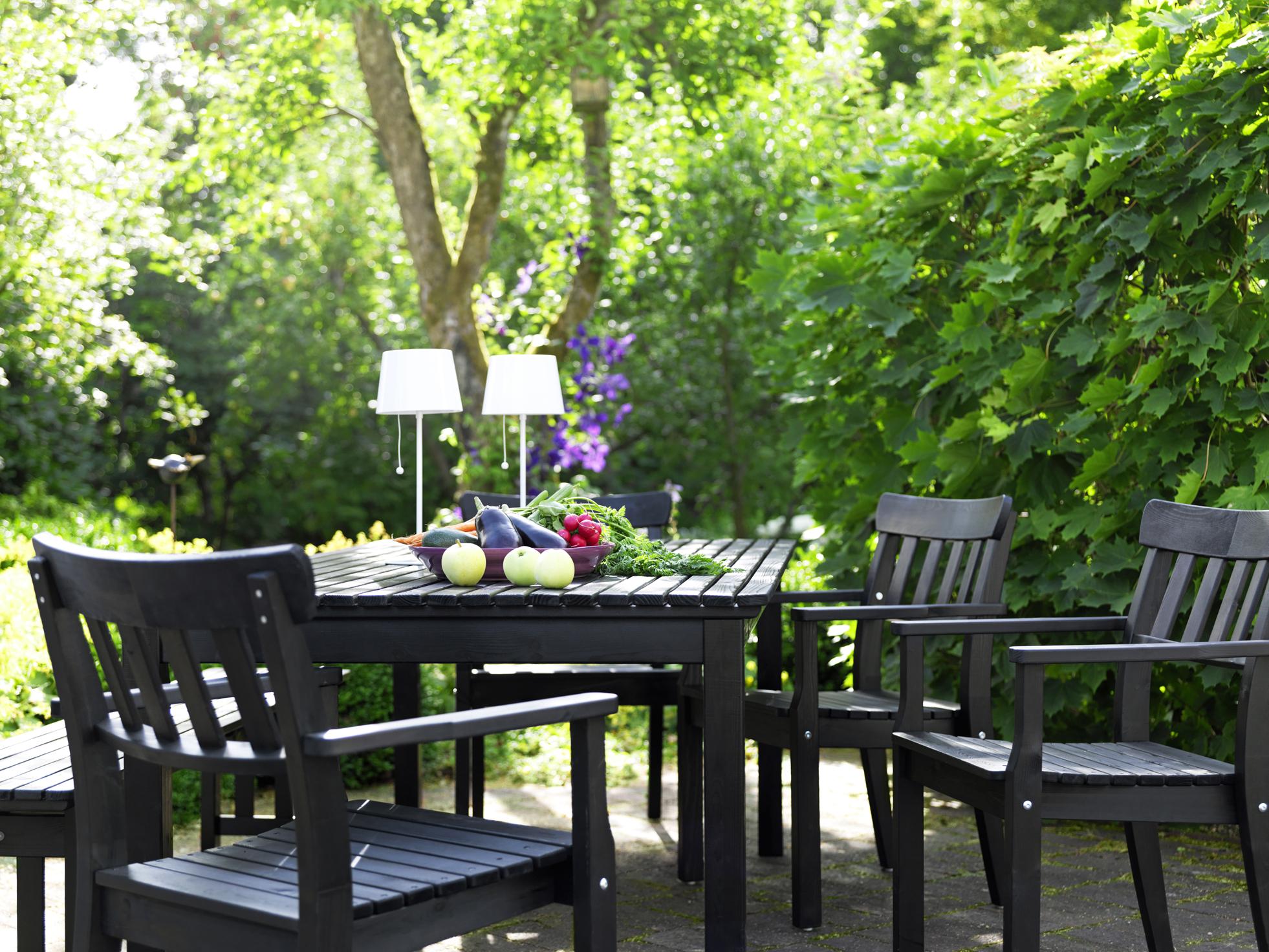 Ikea En El Jardín Y En La Terraza En Blanco Y Negro Blog