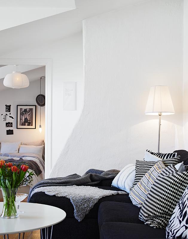 suelo de parquet de roble muebles de diseo interiores ticos estilo nrdico diseo buhardilla decoracin