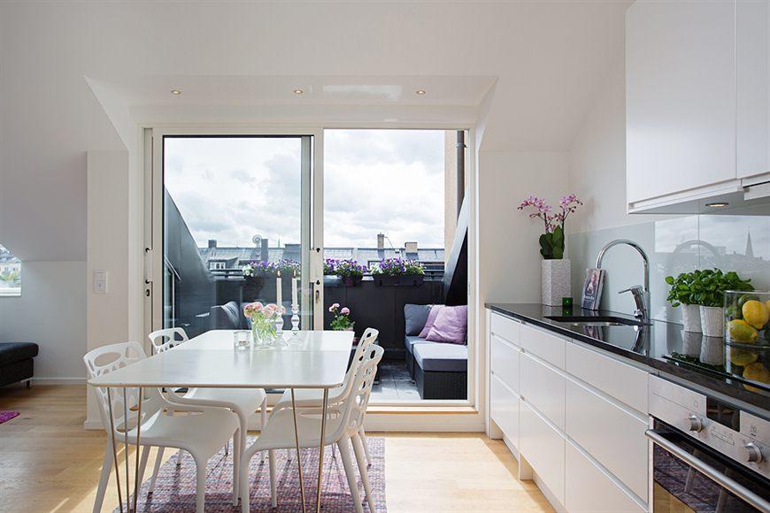 Cocinas peque as modernas abiertas delikatissen blog - Muebles diseno nordico ...