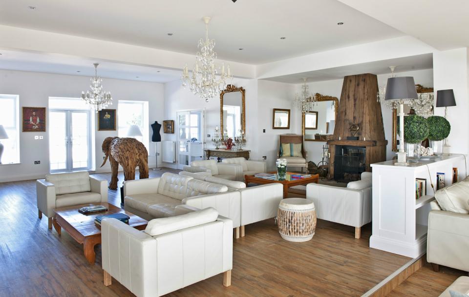 Decoraci n estilo hamptons en la costa brit nica blog - Decoraciones de salones de casa ...