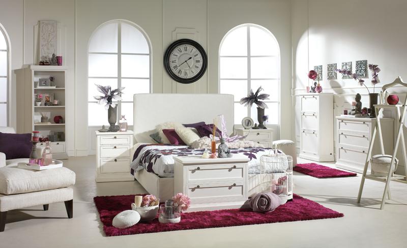 El estilo rom ntico de banak importa blog tienda - Dormitorio estilo romantico ...