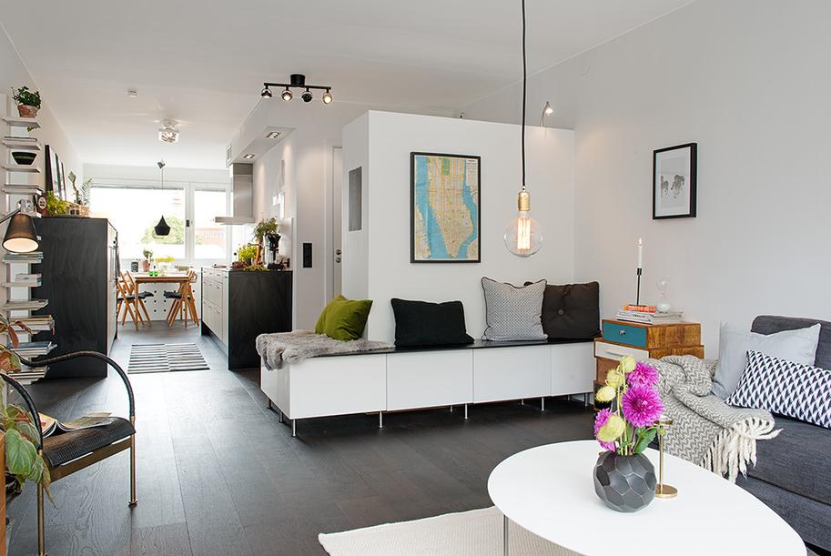 Un piso en el que cada cent metro cuadrado es til blog for Decoracion espacios abiertos