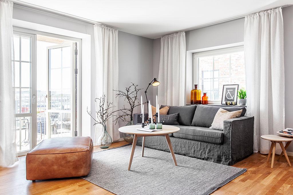 Un piso piloto sueco blog tienda decoraci n estilo - Piso estilo nordico ...