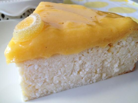 tartas delikatissen tartas de queso tarta quesada tradicional Tarta de requesón y crema de limón (lemon curd) receta requesón postres requesón limon postres delikatissen lemon curd receta fácil cheesecake