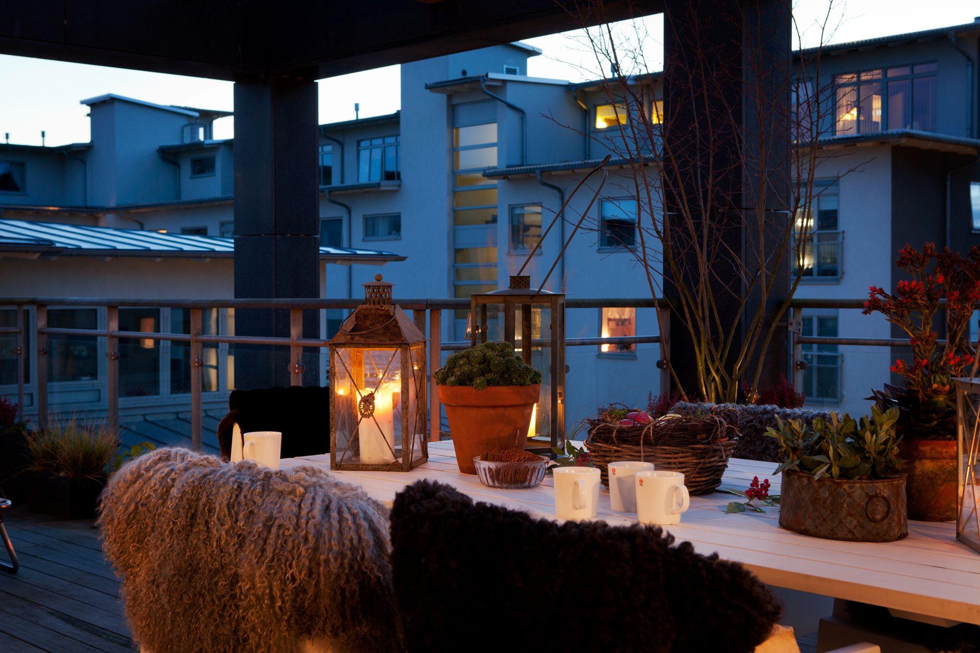 Ático moderno con amplia terraza - Blog tienda decoración estilo ...