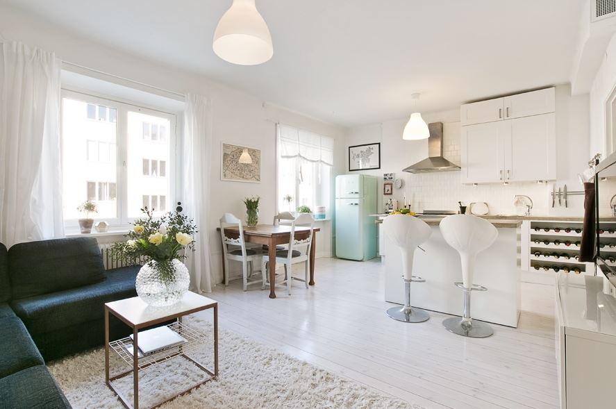 Ideas deco para un piso n rdico peque o blog tienda - Piso pequeno estilo nordico ...