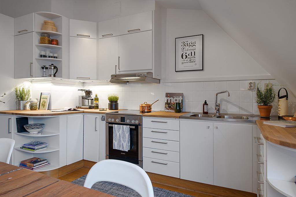 Estilo n rdico con toques de azul blog tienda decoraci n for Cocina estilo nordico