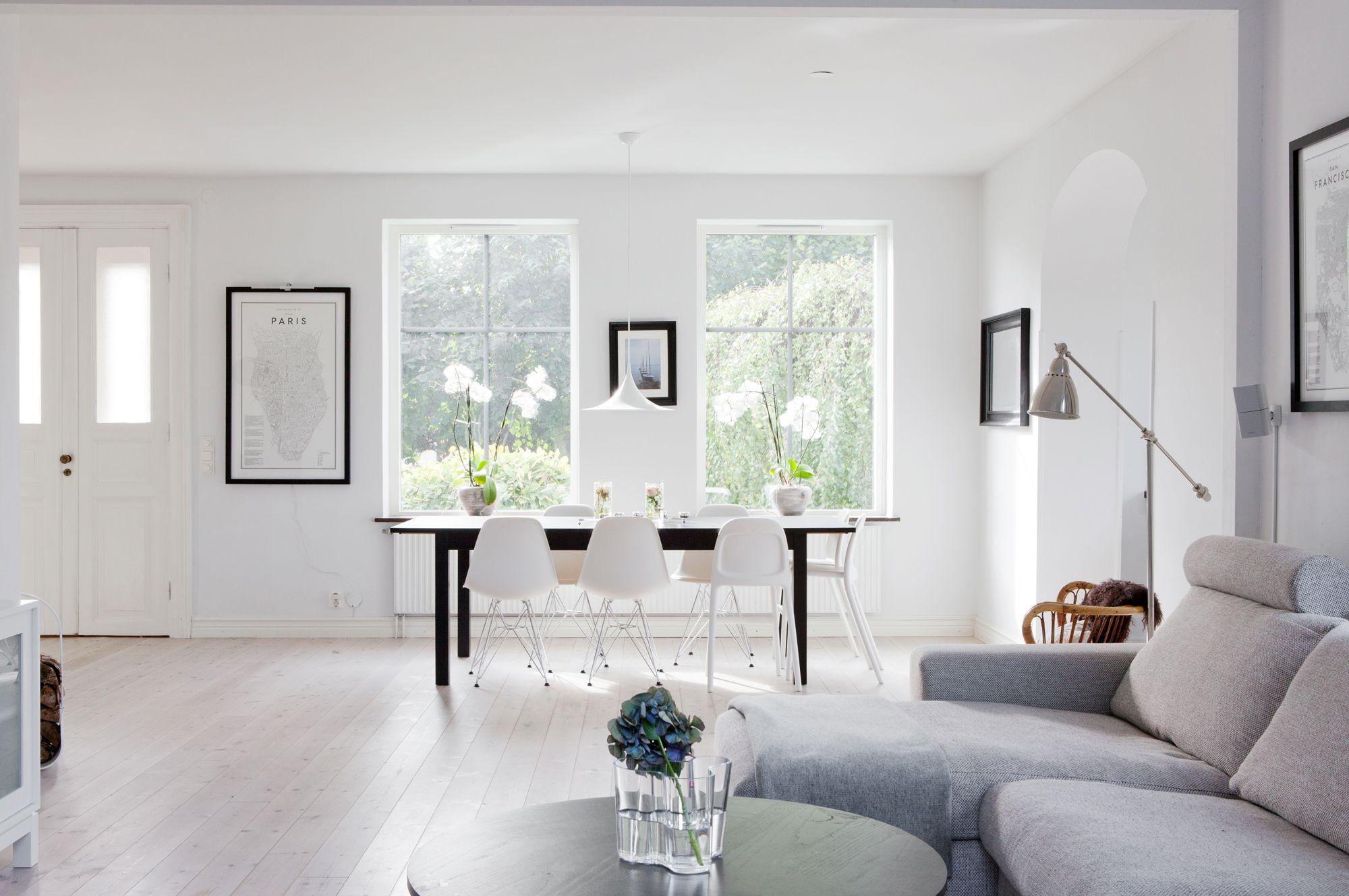 Las casas n rdicas modernas y el espacio blog tienda for Decoracion salon estilo nordico