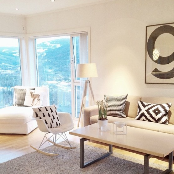 Preciosa casa de estilo nórdico en Noruega