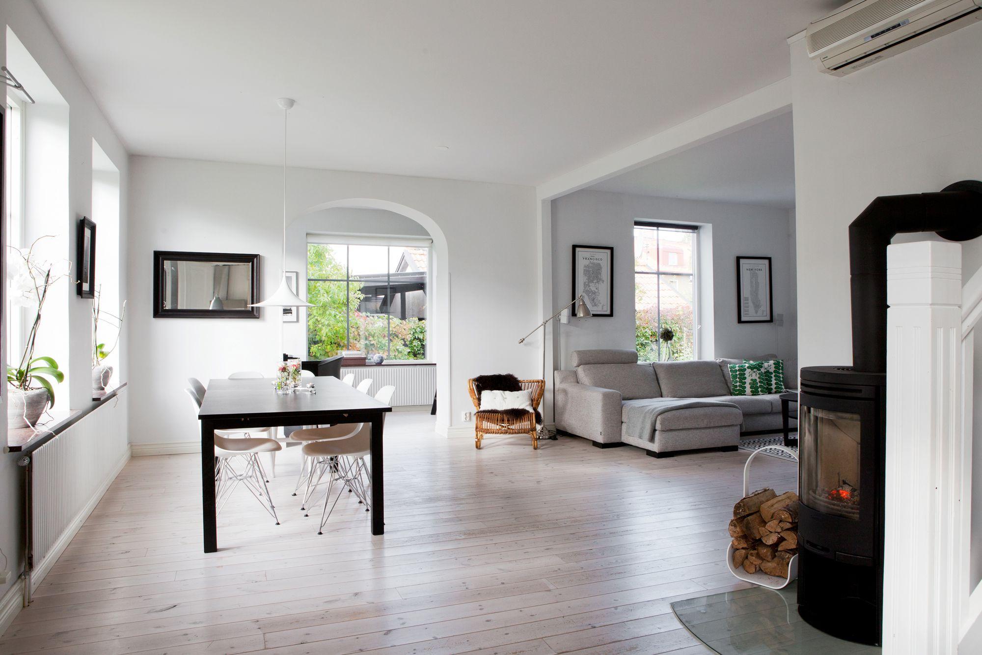 Las casas n rdicas modernas y el espacio blog tienda for Decoracion de interiores madera