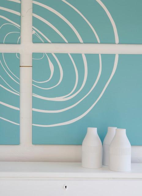 Diy arte para la pared en dos pasos blog tienda - Estilos de pintura para interiores ...
