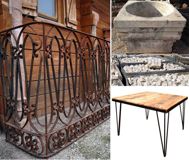 Reciclaje decoracion interiores beautiful gobernantes reciclaje vieja madera para decoracin de - Reciclar marmol ...