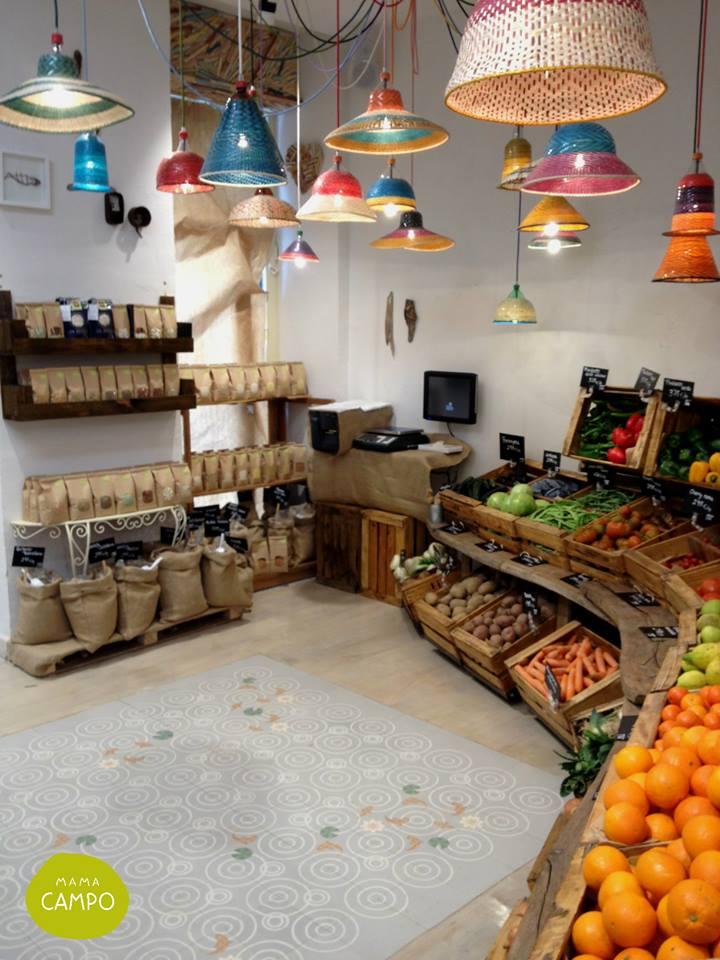 Mama campo madrid restaurante y alimentaci n ecol gica - Decoracion interiores madrid ...