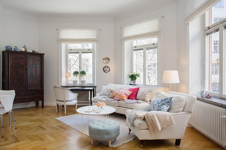 68 m² sin pasillos   blog decoración estilo nórdico   delikatissen