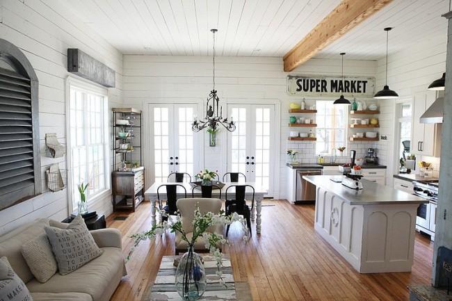 decoración comedores salones diáfanos - - Blog tienda ...