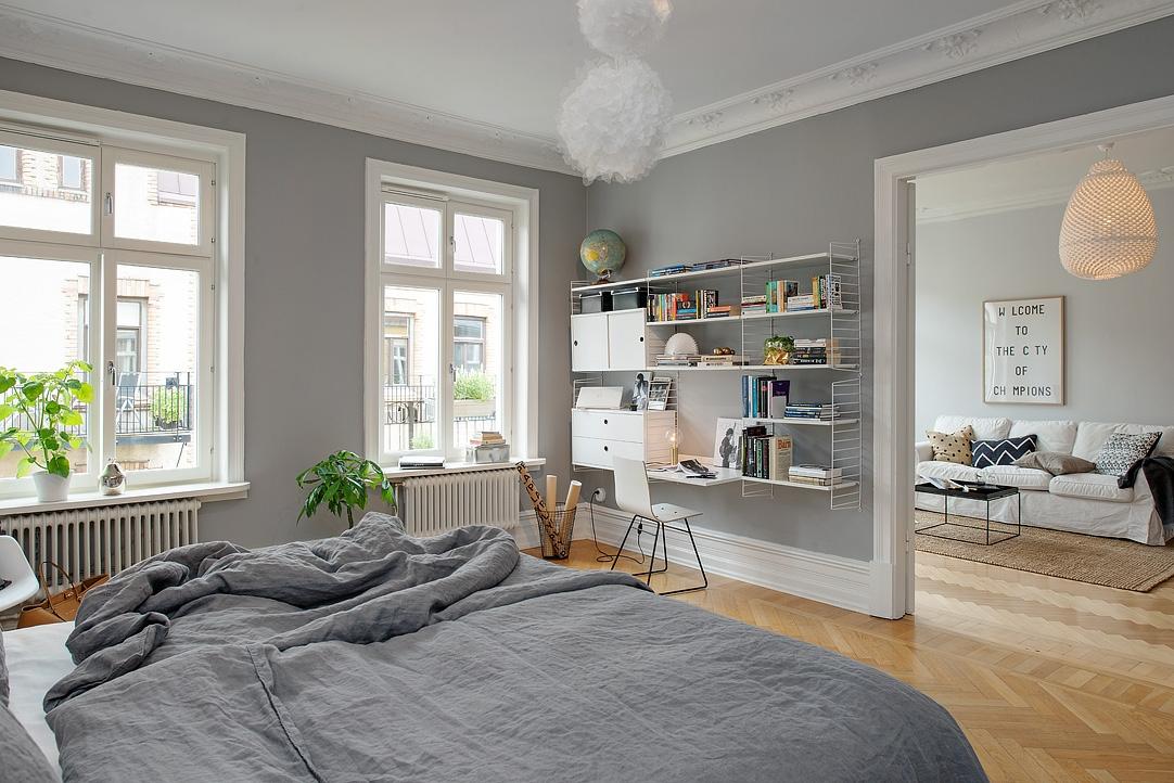 Gris y blanco siempre un acierto blog tienda decoraci n for Decoracion de ambientes interiores