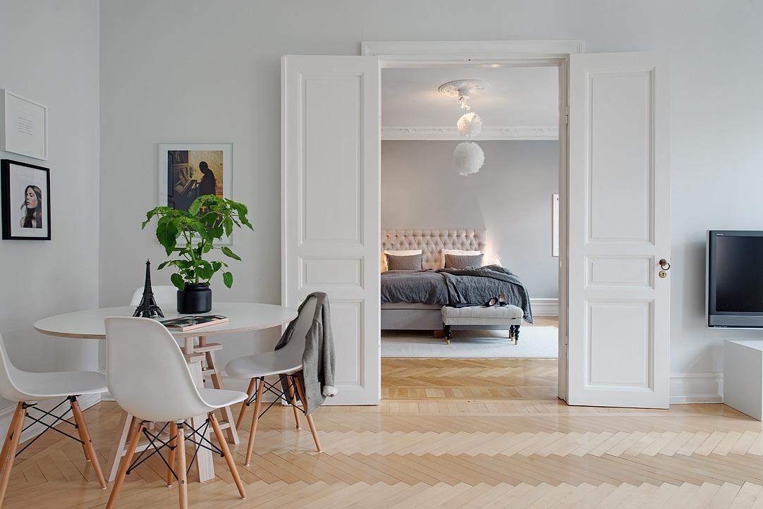 Gris y blanco siempre un acierto blog tienda decoraci n for Decoracion de salones en gris