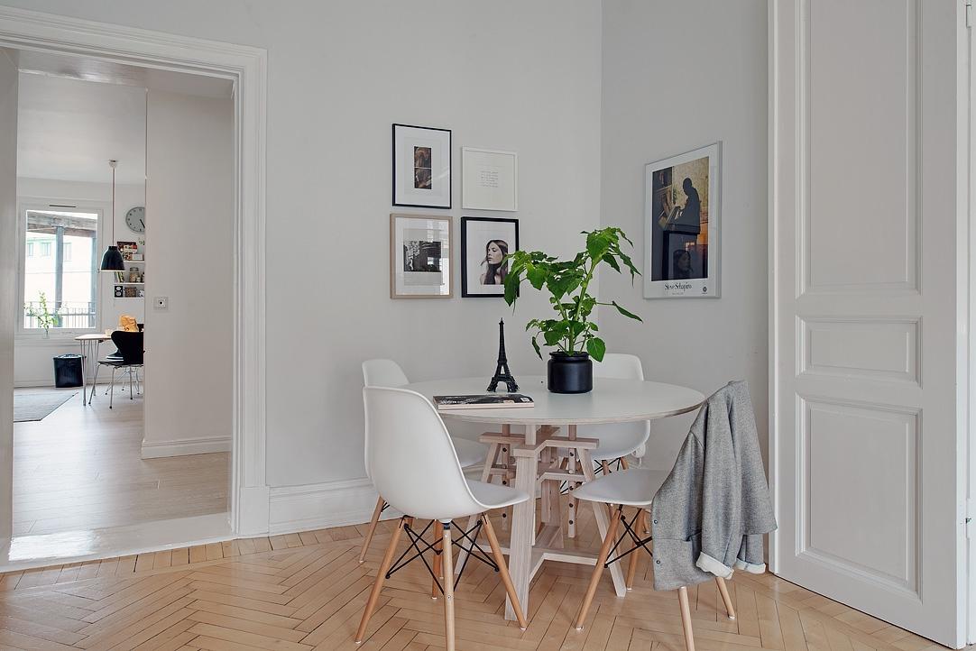 Gris y blanco siempre un acierto blog tienda decoraci n for Decoracion piso estilo retro