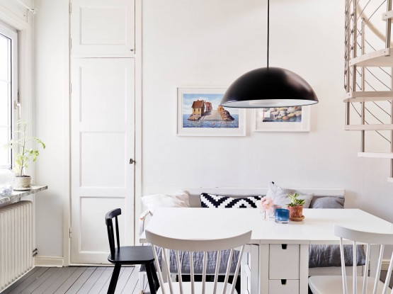 Un dúplex bien aprovechado estilo nórdico decoración habitaciones infantiles decoración de interiores nórdicos escandinavos decoración de dormitorios decoración cocinas blancas modernas decoración áticos y dúplex blog decoracion interiores