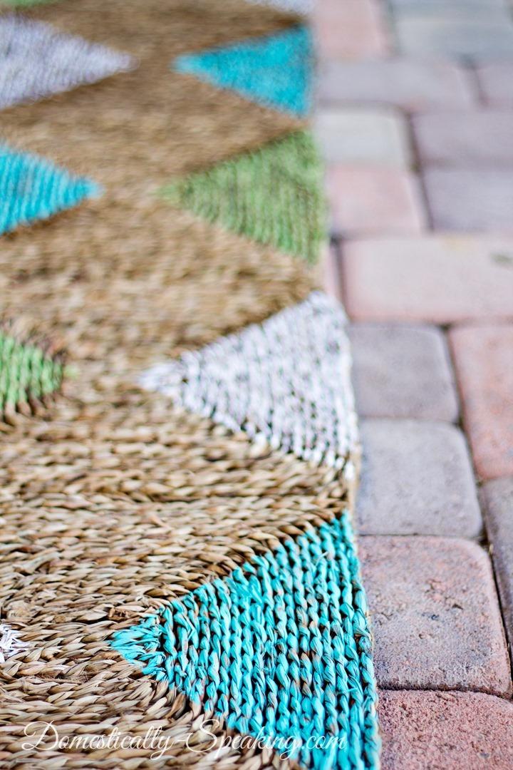 Diy pinta tu alfombra blog tienda decoraci n estilo for Decoracion reciclaje interiores