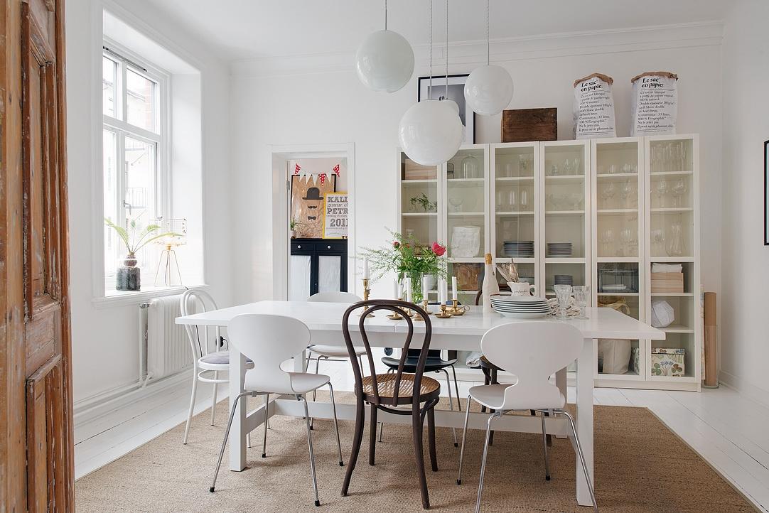 Comedor de estilo nórdico - armónico y actual - Blog tienda ...