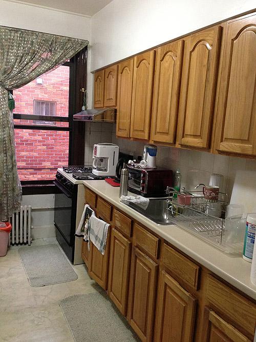 Antes despu s de una cocina aburrida a una muy chic - Pintar muebles de cocina antes y despues ...