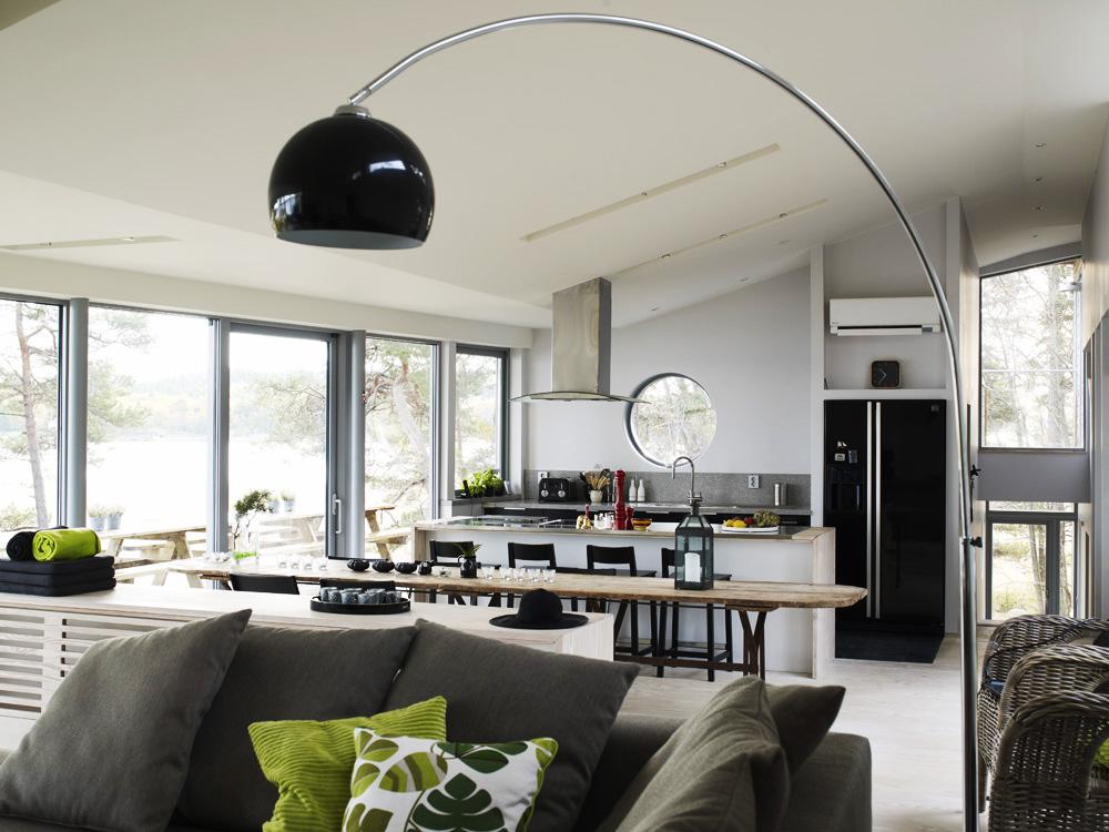 Moderna casa de madera junto al lago blog tienda - Decoracion moderna de interiores ...