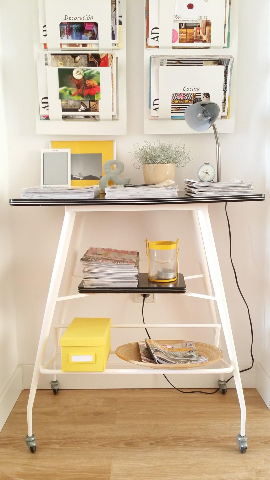 Diy mueble de tele de casi 50 a os convertido en bonito - Mueble estilo nordico ...