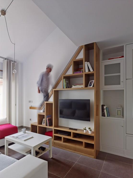 Inspiraci n pisos peque os delikatissen blog tienda - Piso pequeno diseno ...