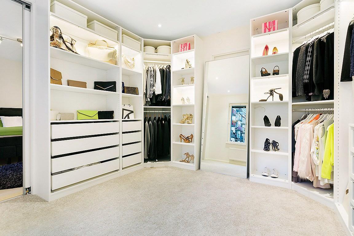 estilo nrdico moderno de lujo diseo interiores difanos decoracin en blanco decoracin diseo vestidores decoracin de - Vestidores De Lujo