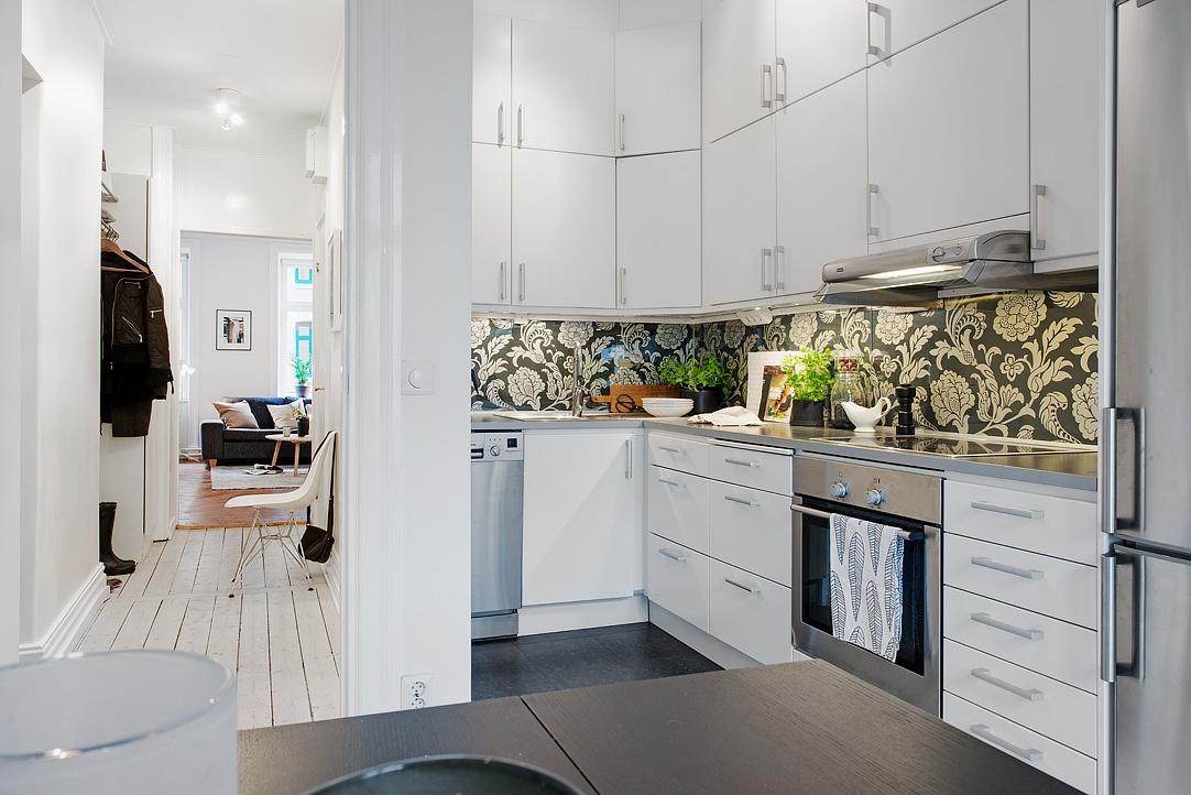 Espacio extra de almacenaje en la cocina con armarios - Almacenaje de cocina ...