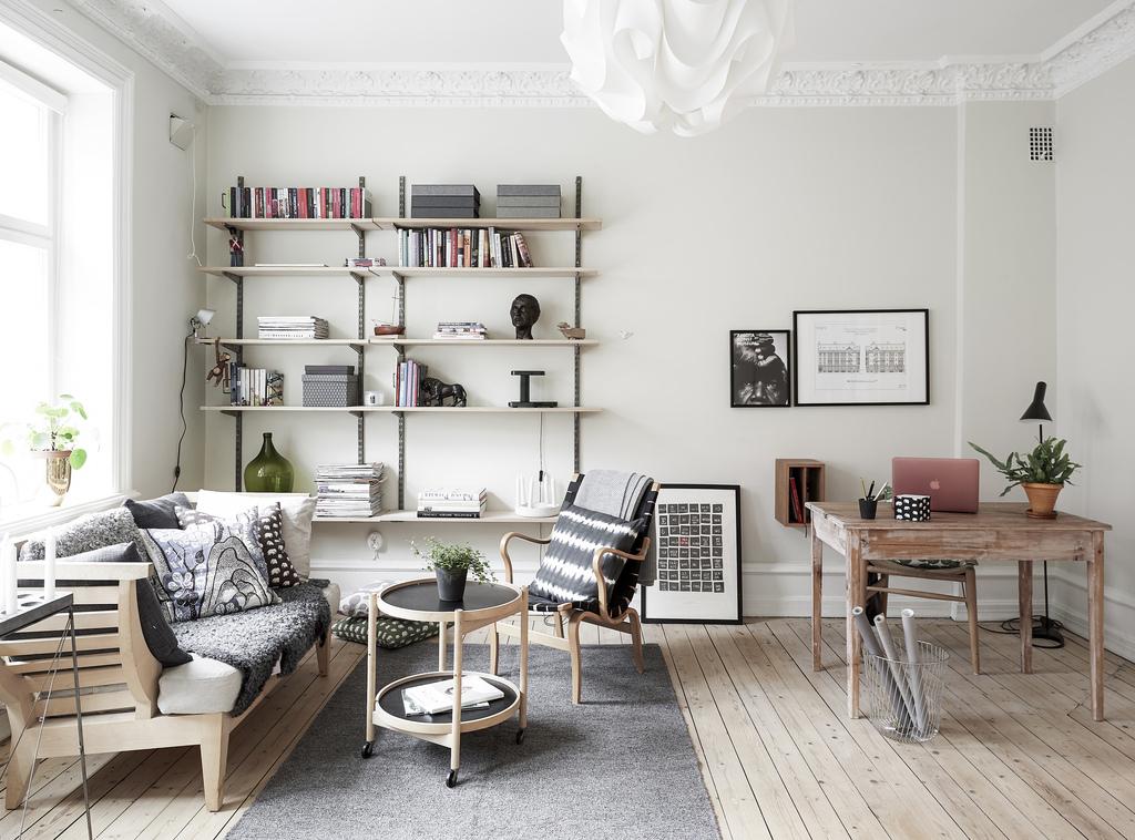 El dormitorio en un entrante del sal n blog tienda - Interiorismo nordico ...