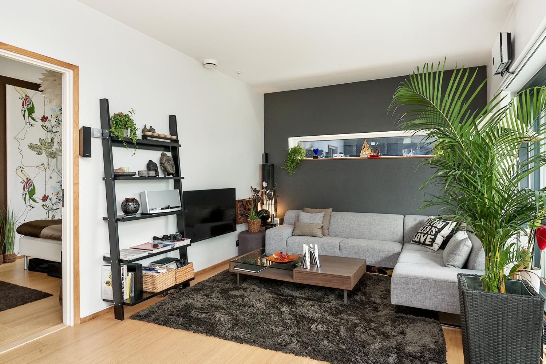 65m con cocina comedor sal n abiertos blog tienda for Decoracion pisos pequenos modernos