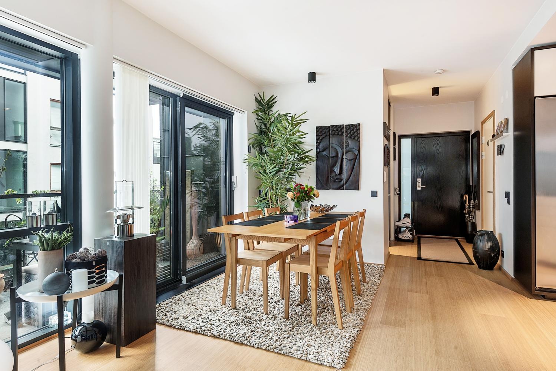 65m con cocina comedor sal n abiertos blog tienda for Decoracion salon estilo nordico