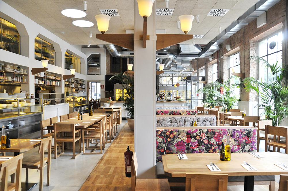 Restaurante flax kale barcelona blog decoraci n for Decoracion interiores barcelona