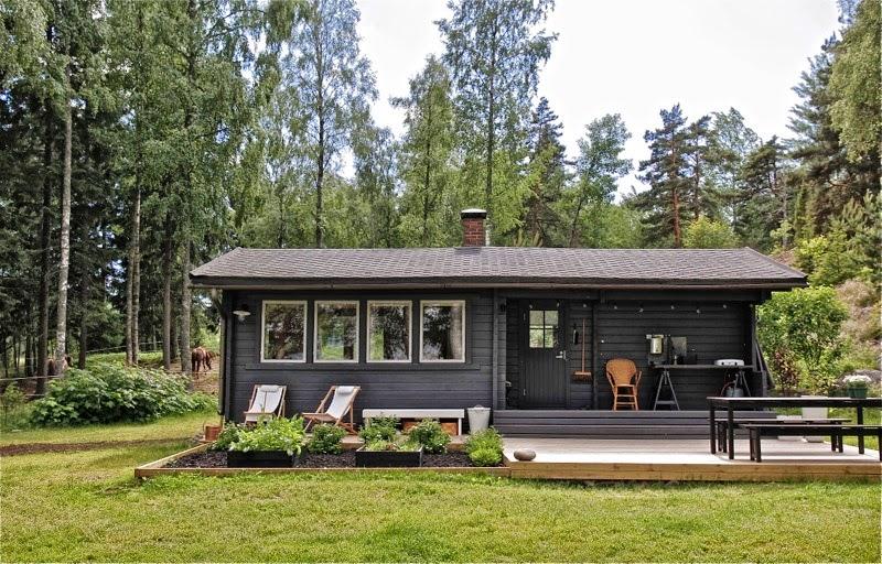 Casa de madera de vacaciones en finlandia blog tienda - Casas de madera nordicas ...
