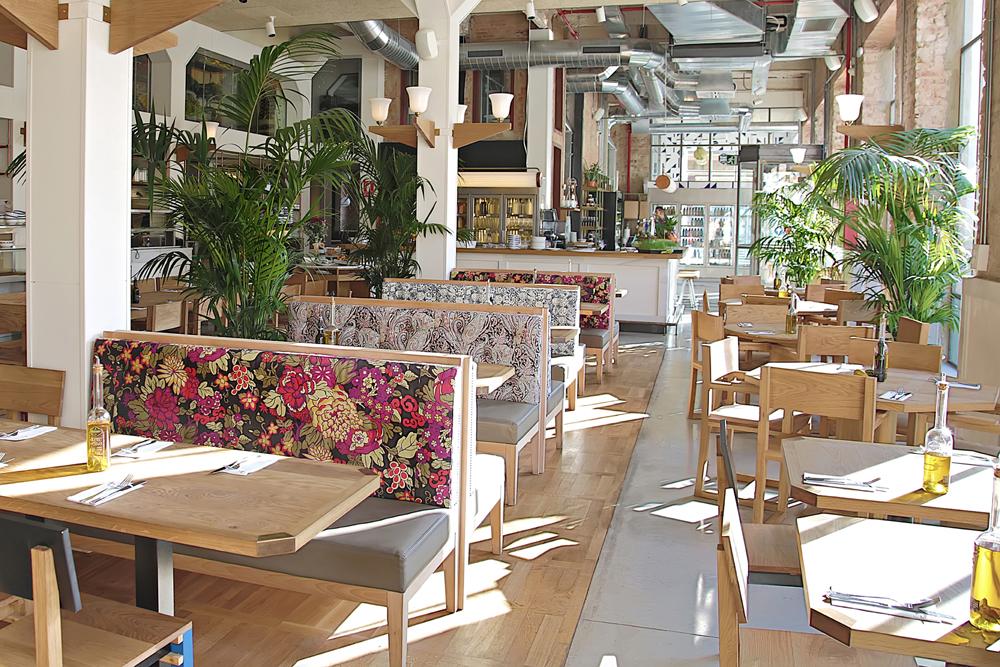 Restaurante flax kale barcelona blog tienda - Decoracion de interiores restaurantes ...
