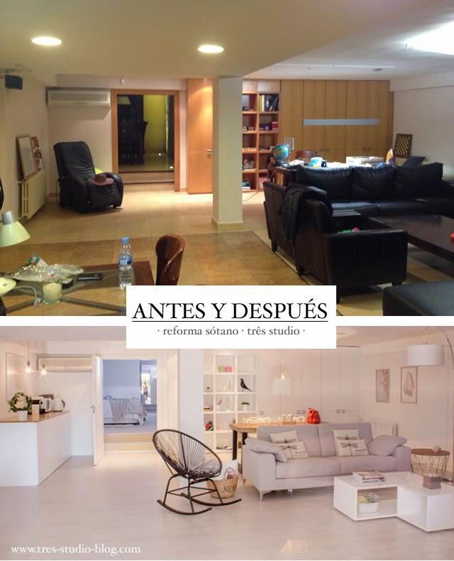 Precioso piso nórdico en el sótano de una casa en Valencia - Blog ...